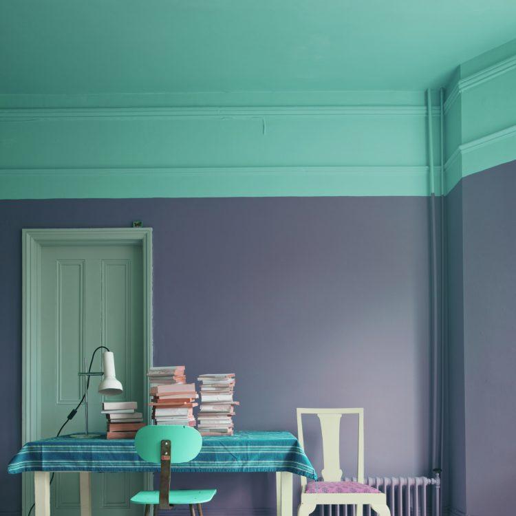 Wandgestaltung mit Farben